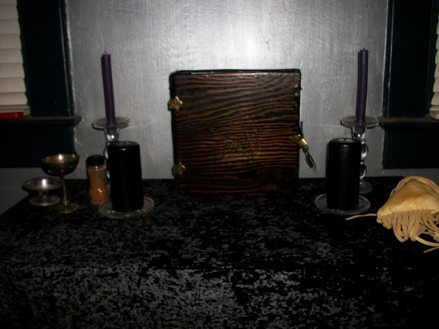 You are browsing images from the article: My latest project - a wooden locking spellbook